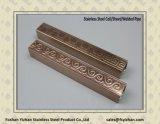 Ss201 스테인리스 Empaistic 장식적인 용접된 관