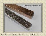 Tubo saldato ornamentale di Empaistic dell'acciaio inossidabile Ss201
