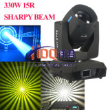 Sharpy 효력 광속 330W 이동하는 맨 위 단계 빛