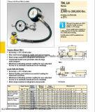 Contador de tensión de Enerpac y células de carga Lh-102 y TM-5