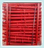 Zds a peint l'échafaudage de Cuplock pour la construction