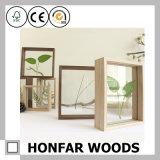 Cornice di legno di legno dell'intelaiatura a scatola dell'ombra della casella dell'esemplare
