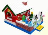 熱い販売の販売のための膨脹可能な雪の球、膨脹可能なクリスマスの城