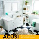 新しく熱い販売のアメリカの簡単な様式の純木の浴室の虚栄心の浴室用キャビネットの浴室の家具(ACS1-W38)