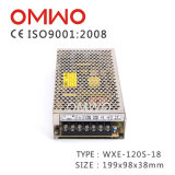 Wxe-120s-24 Transformateur d'alimentation de commutation S-120-24 Ce RoHS LED Driver