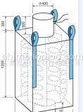 FIBC riesiger Tonnen-Behälter-grosser Beutel mit weißem Buffle