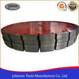 350mm Diamond Loop Hoja de sierra para hormigón y asfalto