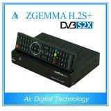 Sintonizzatori triplici astuti Zgemma H. 2s di DVB-S2+DVB-S2/S2X/T2/C più la ricevente satellite di OS E2 di Linux