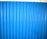 Strucure 강철 건물에 루핑 장으로 사용되는 물결 모양 색깔 강철판