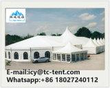 مزيج حزب خيمة [25إكس60م] أبيض [بفك] سقف زجاجيّة مع [فّيب] بطانة زخرفة