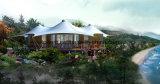 Camera di legno vivente della tenda esterna di festa per luna di miele o rilassamento