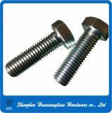 Boulons de tête d'hexagone de l'acier inoxydable DIN933 DIN931 de fabrication de la Chine