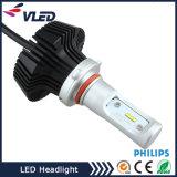 最も新しい車LEDのヘッドライト9005の9006極度の強力な自動球根