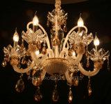 Luz de cristal de Fixtured Pentant com a alta qualidade para o uso interno