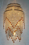 屋内使用のための贅沢な水晶装飾的な壁ランプ