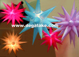 Estrela inflável atrativa da iluminação para a decoração no partido/festival/casamento