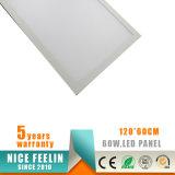 1200*600mm 60W LED Instrumententafel-Leuchte mit Garantie 5years