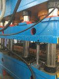Máquina da fatura de teste padrão da porta de Dhp-4000t, porta de aço do ferro que faz a máquina