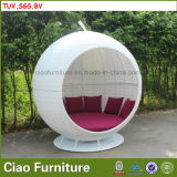 H-China Openlucht Rieten Zonnige Appel Daybed