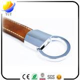 Изготовленный на заказ дешевая кожаный ключевая цепь