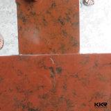 Superfície contínua acrílica modificada de pedra do material de edifício da resina