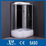 cabines élevées de douche de plateau de tailles importantes de 150cm
