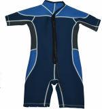 ネオプレンのShortyのスキューバ子供のための商業水着の潜水服