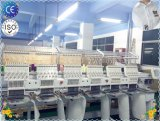 Wonyo 6 de Hoofden Geautomatiseerde Machine van het Borduurwerk met 9/12 van Naalden voor de T-shirt van GLB en Vlak die Borduurwerk in de Prijzen van China wordt gemaakt