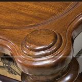 좋은 품질 As839와 거실 홈 사용을%s 최신 단순한 설계 단단한 나무 둥근 커피용 탁자