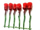Kit cosmético profesional del cepillo del maquillaje de la dimensión de una variable de la flor de Rose