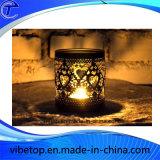 Sostenedor de vela creativo al por mayor del metal para el día de la Navidad/la decoración casera