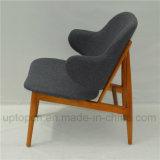 純木のラウンジのIb Kofodラーセンの安楽椅子(SP-EC706)