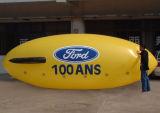 Nuovo piccolo dirigibile gonfiabile di pubblicità popolare dell'elio 2017