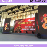 pantalla de visualización de LED del panel de visualización de la etapa del alquiler de 3.91m m para la publicidad video