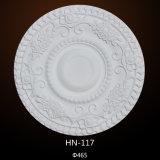 PU-Decken-Medaillon-dekorativer materieller Polyurethan, der Hn-117 formt