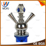 Beweglicher Huka-Wasser-Vasen-Verkauf Narguile leitet Shisha das Rauchen