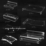 Ensemble bac à papier en plastique blanc Traite de salle de bains (BTR-P1004)