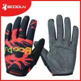 完全な指の循環の手袋の冬の自転車のオートバイの手袋MTBのバイクの手袋