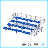 Assento móvel de alumínio do carrinho para o jogo de voleibol/estádio