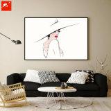 Самомоднейшее изображение стены делая эскиз к картине маслом для домашнего декора