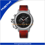 Het sportieve Militaire Timepieces van de Wijzerplaat van de Stijl Dubbele Horloge van Wrsit van de Mens