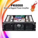 Amplificador de gran alcance de sonidos de DJ del poder más elevado Pk6000