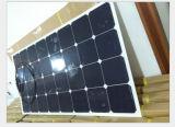 Kundenspezifischer 10W 12V halb Sunpower flexibler Sonnenkollektor