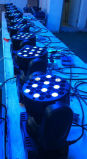 Indicatore luminoso di inondazione capo mobile del fascio della lavata del IP 65 LED 3W RGBW 36PCS dell'indicatore luminoso del fascio di alta qualità e del professionista