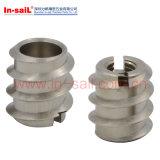 Piezas insertas penetrantes para el metal de madera o fino