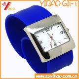 Reloj impermeable Customed (YB-HR-148) del silicón del deporte verde de la manera