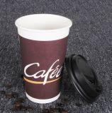 PE solo lado recubierto de la taza de papel para la máquina expendedora de bebidas calientes