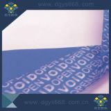 Leerer Besetzer-Beweis-Sicherheits-Hologramm-Aufkleber