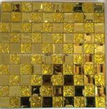 Mosaico del espejo del diamante del azulejo de mosaico del oro (HD090)