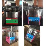 Commerical süsser elektrischer Tischplattenzuckerwatte-Glasschlacke-Hersteller auf Verkauf